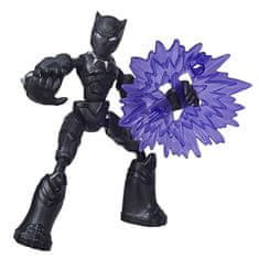 Avengers Bend and Flex Black Panther figura