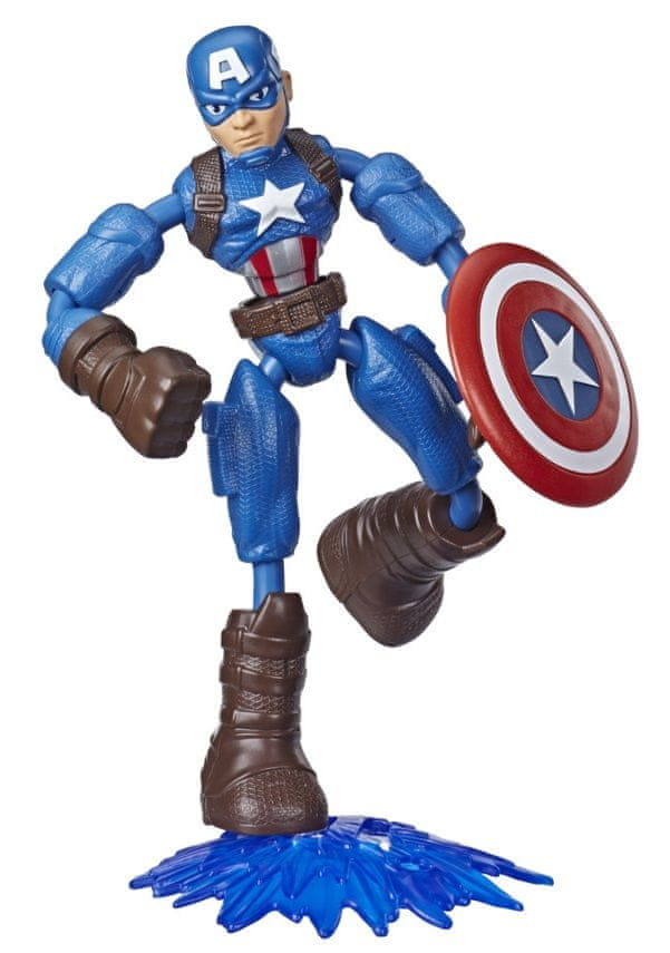 Avengers figurka Bend and Flex Captain America