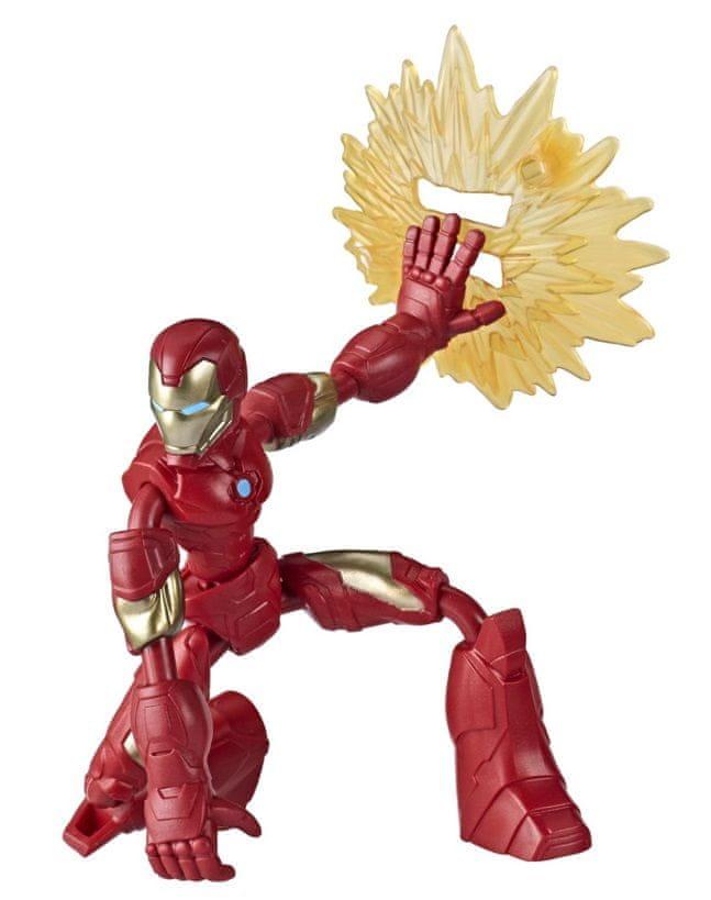 Avengers figurka Bend and Flex Iron Man