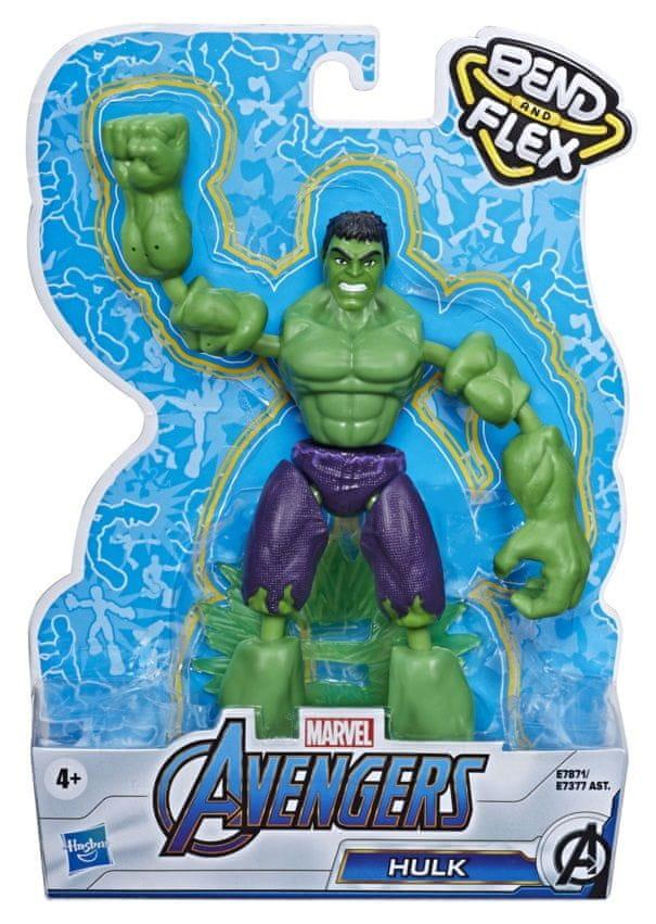Avengers figurka Bend and Flex Hulk