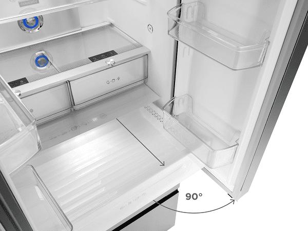 Concept LA6983ss praktické otevírání dveří