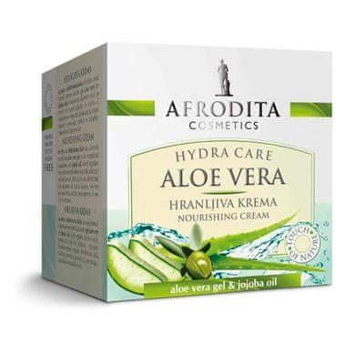 Kozmetika Afrodita Aloe vera hranljivo-aktivna krema