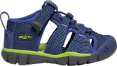 KEEN otroški sandali Seacamp II CNX Inf. 22, modri