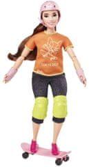 Mattel Barbie Olimpijka Skaterka