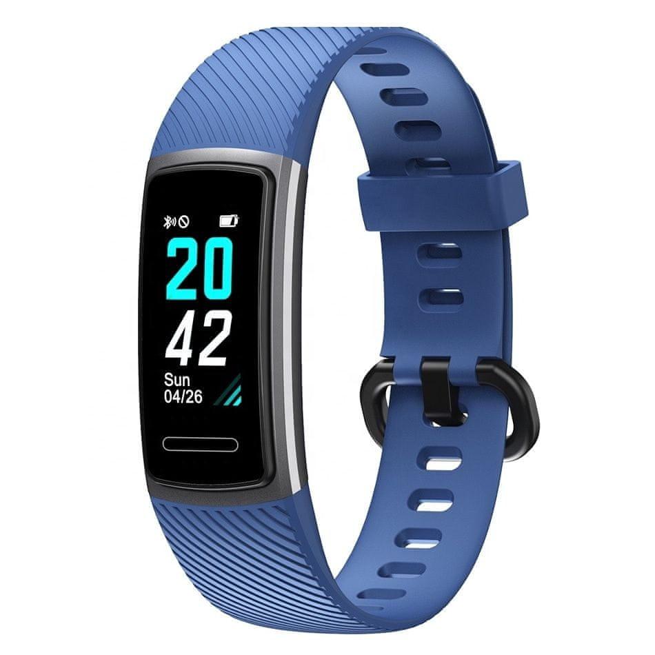 NEOGO SmartBand D52, fitness náramek, modrý