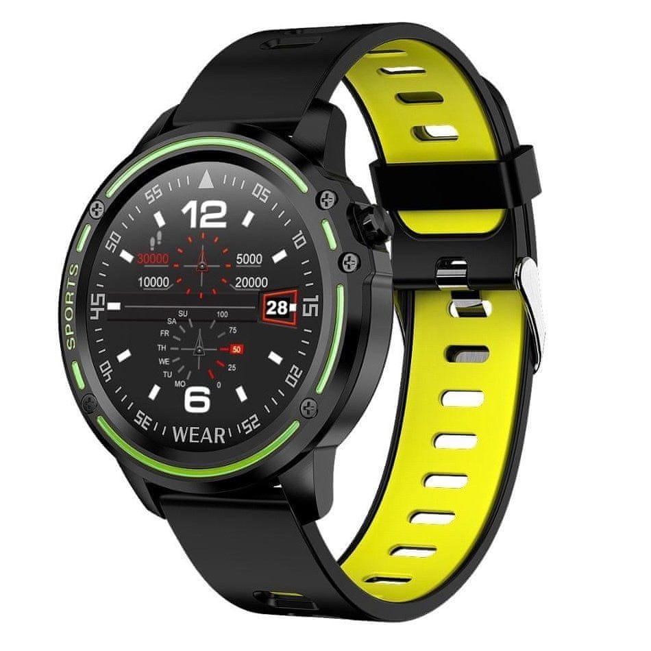 NEOGO TimeFit X8, chytré hodinky, žluté