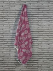 Denizli Concept osuška ANANAS (ružová). 100x180 cm.