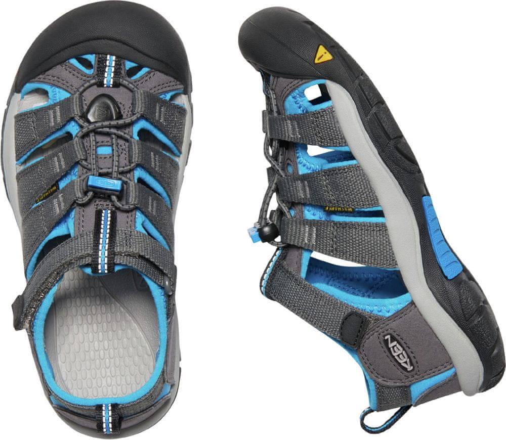 KEEN juniorské sandály Newport H2 Jr. 37 šedá