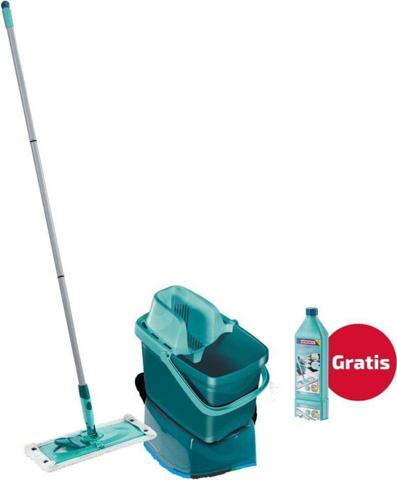Leifheit Sada Combi Clean M + čistič na podlahy s leštidlem, 1 l koncentrát