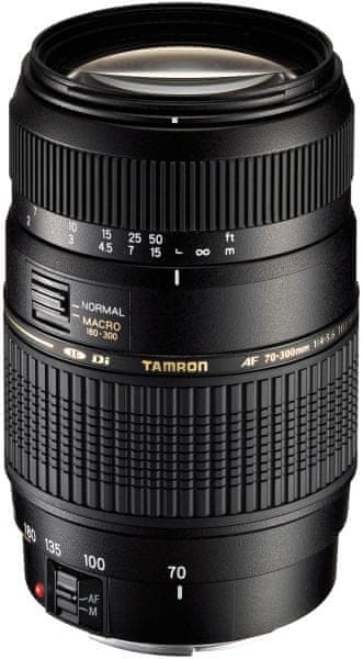 Tamron 70-300 mm AF f/4-5.6 Di LD Macro 1:2 CANON (5 let záruka)