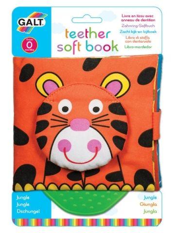 Galt Dětská knížka s kousátkem - Džungle