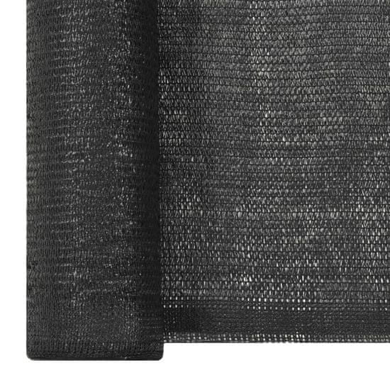 shumee belátásgátló háló, HDPE, 1,5 x 10 m, fekete