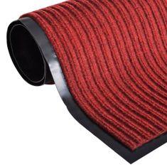 shumee Červená rohožka pred dvere z PVC 120 x 180 cm