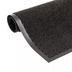 shumee Protiprachová obdélníková rohožka všívaná 120x180 cm černá
