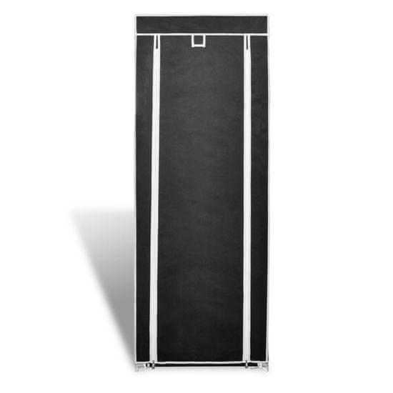 shumee Omara za Čevlje s Pokrivalom Blago 57 x 29 x 162 cm Črne Barve