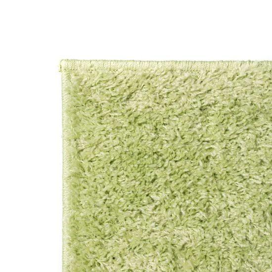shumee Košata preproga 80x150 cm zelene barve