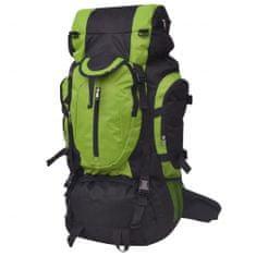 shumee Plecak turystyczny XXL 75 L, czarno-zielony