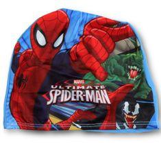 """SETINO Fantovski plavalna kapa """"Spiderman"""" - modra"""