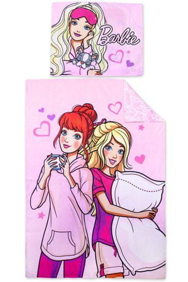 "SETINO Otroška posteljnina ""Barbie"" -140x200, 70x90 roza"