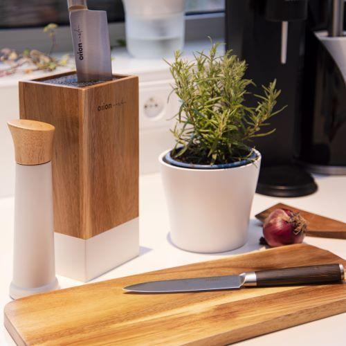 Orion Nůž kuchyňský nerez WOODEN sada 5 ks