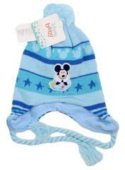 "SETINO Fantovska zimska kapa ""Mickey Mouse"" - svetlo modra - 50 cm"