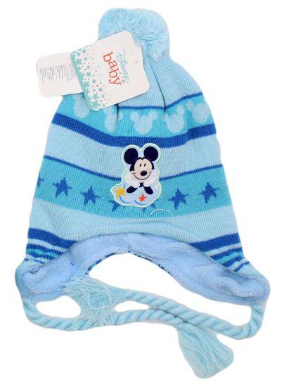 "SETINO Fantovska zimska kapa ""Mickey Mouse"" - svetlo modra"