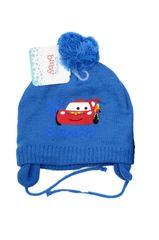 "SETINO Fantovska zimska kapa ""Cars"" - svetlo modra - 48 cm"
