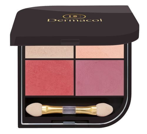 Dermacol Paleta cieni do (Eyeshadow) Quatro (Eyeshadow) cień do (Eyeshadow) 8 g