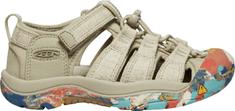 KEEN juniorské sandály Newport H2 Jr. 32/33 béžová/hnědá