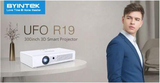 Byintek UFO R19 mini prenosni LED DLP projektor