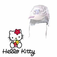 """SETINO Czapka dziewczęca """"Hello Kitty"""" - biały - 50 cm"""