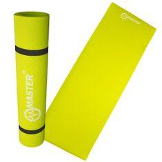 Master podložka na cvičení Yoga EVA 4 mm - 173 x 60 cm - zelená