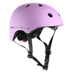 Nils Extreme freestylová helma MTV12 fialová, vel. M (53-55 cm)