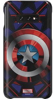 Samsung Original Stylový Kryt Captain America pro G970 Galaxy S10e EU Blister (GP-G970HIFGHWC)