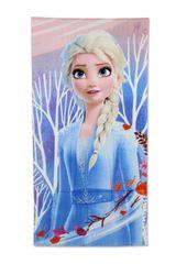 """SETINO Detská osuška """"Frozen Elsa"""" - modrá - 70 x 140 cm"""