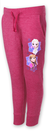 "SETINO Dekliška trenirke ""Frozen"" - temno roza"