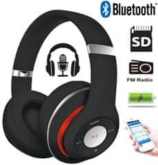 Platinet Freestyle FH0916B naglavne Bluetooth slušalke, črne - Odprta embalaža