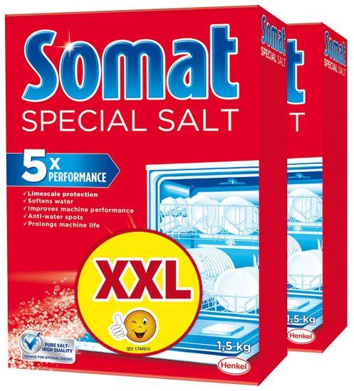 Somat Sůl do myčky 2x 1,5 kg