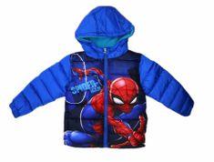 "SETINO Fantje zimska jakna ""Spiderman"" - svetlo modra - 98 / 2–3 leta"