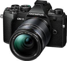 Olympus Aparat E-M5 Mark III + 14-150 EZ Black (V207091BE000)
