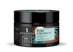 Kozmetika Afrodita SPA Pure Coconut lahko maslo za telo, 200 ml