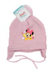 "SETINO Dekliška zimska kapa ""Minnie Mouse"" - temno roza - 48 cm"