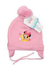 """SETINO Dziewczęca czapka zimowa """"Myszka Minnie"""" - jasnoróżowy - 50 cm"""