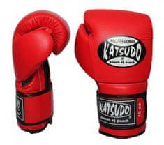 Katsudo KATSUDO Boxerské rukavice PROFESIONÁL II - červené