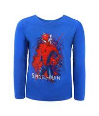"""SETINO Fantovska majica z dolgimi rokavi """"Spiderman"""" - modra - 92–98 / 2–3 leta"""