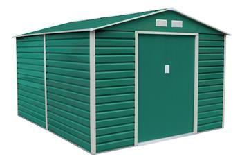 G21 Zahradní domek GAH 1085 - 340 x 319 cm, zelený