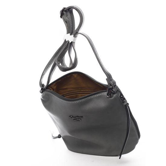 David Jones Crossbody kabelka Roberta, tmavo šedá