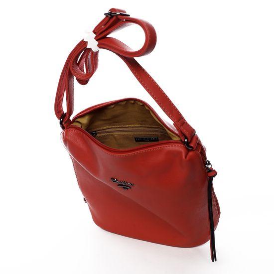David Jones Crossbody kabelka Roberta, červená