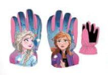 """SETINO Dekliške smučarske rokavice """"Frozen II"""" - roza - 7–8 let"""