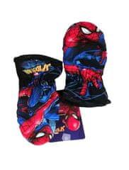 """SETINO Chlapčenské rukavice """"Spider-man"""" - tmavo modrá - 5–6 rokov"""